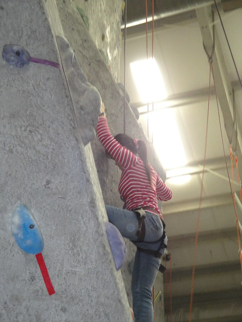 2009-11-21 Rock Climbing - Indoor