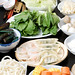 "Ingredients for a Sumptuous Hot Pot (aka ""Steamboat"") Feast"