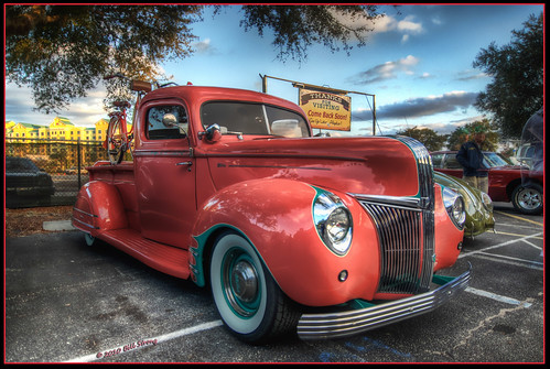 ford truck florida pickup oldtown hdr 1941 kissimee photomatix 3exp tokina1116mm topazadjust
