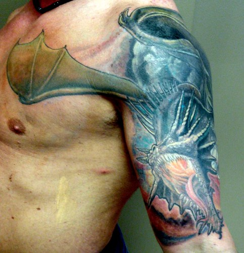 4359146004 for Medieval dragon tattoo