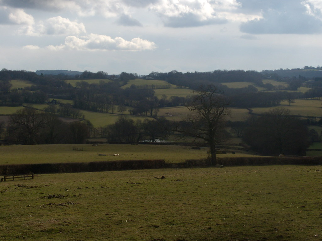 View into the valley 2 Nearing Burwash. Stonegate to Robertsbridge