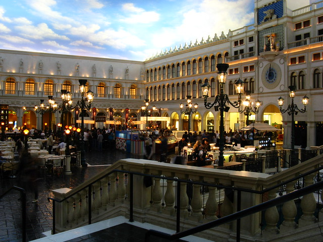 St marks square grand canal shops the venetian las for Michaels craft store las vegas nevada