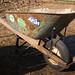 Folksy, Hard-working, Down-to-Earth Wheelbarrow