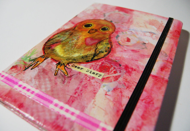 Owl Notebook Cover Tutorial