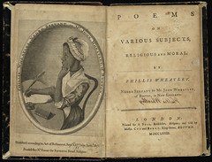 Poems on Various Subjects, Religious and Moral [Title page and frontispiece]