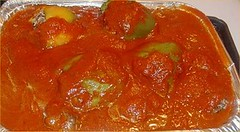calabaza(0.0), candied fruit(0.0), produce(0.0), vegetable(1.0), tomato sauce(1.0), food(1.0), dish(1.0), cuisine(1.0),