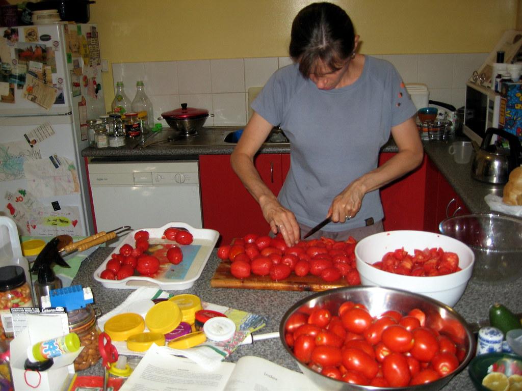 Tomato festival, day 1