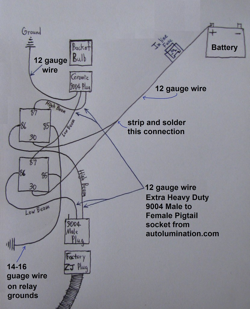 Tx59grands Picss Most Interesting Flickr Photos Picssr 9004 Headlight Wire Diagram Connections My New Schematic Of How I Am Going To Do Harness This Is
