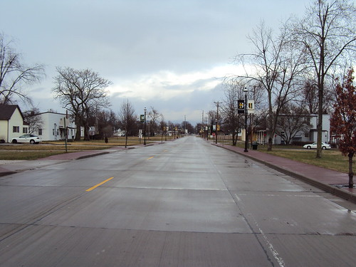 Road to the Metrolink Station - Belleville Illinois