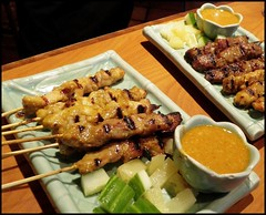 meal, meat, food, dish, yakitori, cuisine, souvlaki, skewer, satay, grilled food,