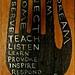 teach & listen by denise carbonell