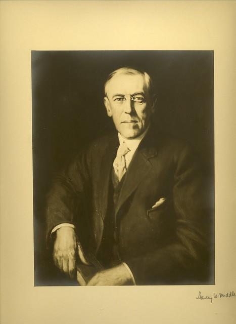 Woodrow Wilson Portrait from Flickr via Wylio