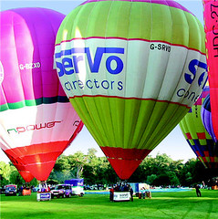 Scottish balloon challenge, Angus