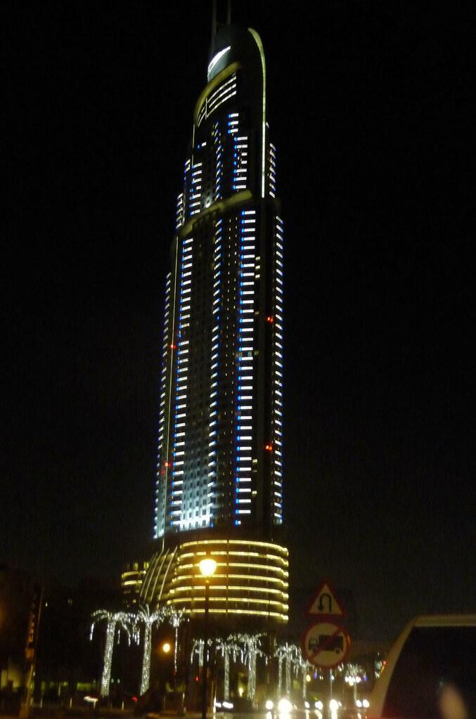 Address Hotel near Burj Khalifa (aka Burj Dubai)