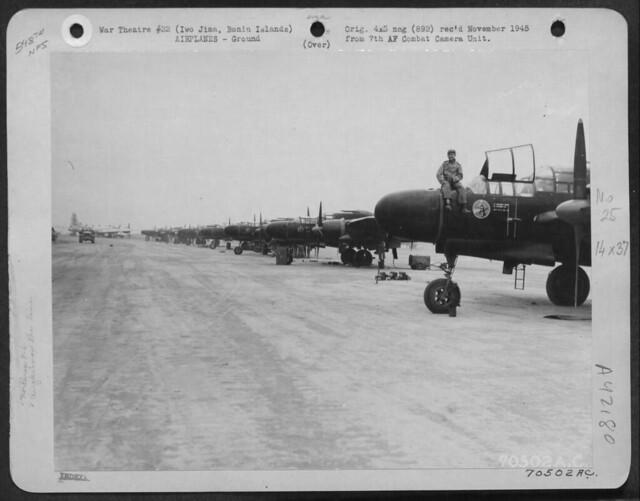Northrop P-61 Black Widows