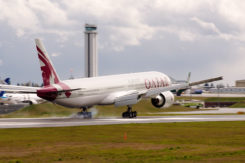 Boeing 777-300 Qatar Airways A7-BAK