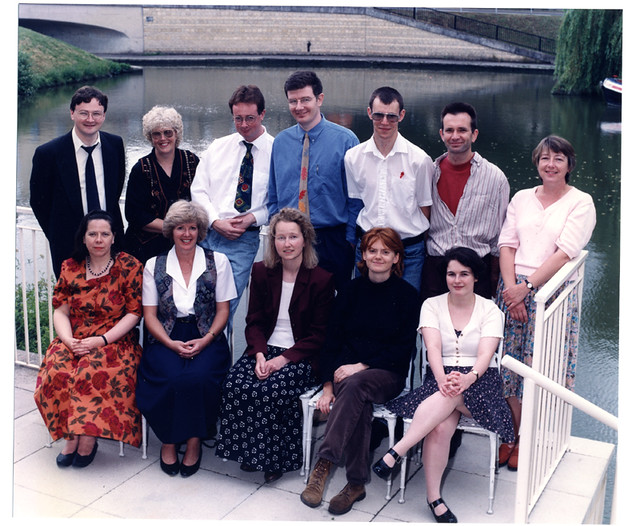 UKOLN Staff Photo 1996 (Anne Chapman not present)