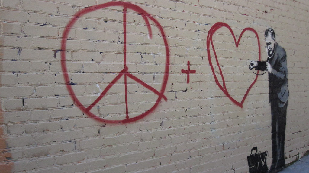 Banksy Peace + Love Checkup