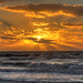 Golden Sunset, Clearwater Beach, FL by Sue In Clearwater