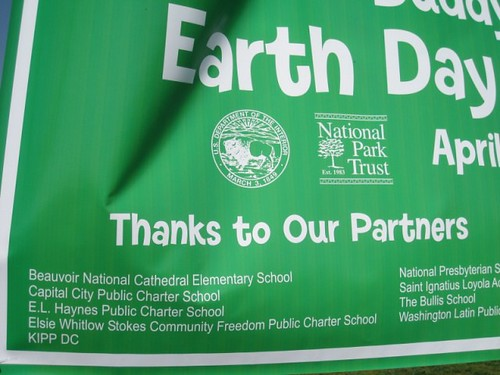 Beauvoir at Earth Day