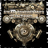 SteamPowered Nuts UnZipped Brass Logo