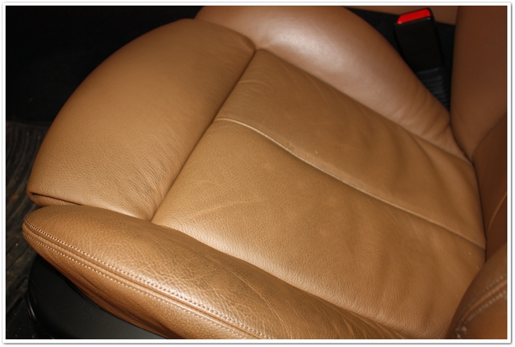 is it possible to get rid of winkles on seats bimmerfest bmw forums. Black Bedroom Furniture Sets. Home Design Ideas
