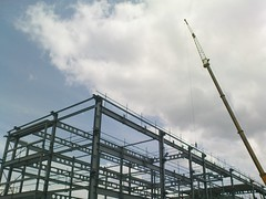 Birmingham City Council - New office building construction site at Birmingham Science Park Aston