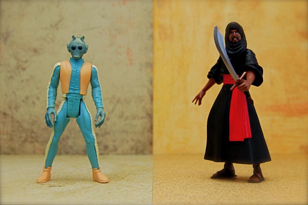 Greedo vs. Cairo Swordsman (127/365)