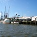 Docks at Apalachicola, Florida