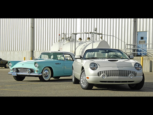 50th Anniversary of Ford Thunderbird by rockymtc