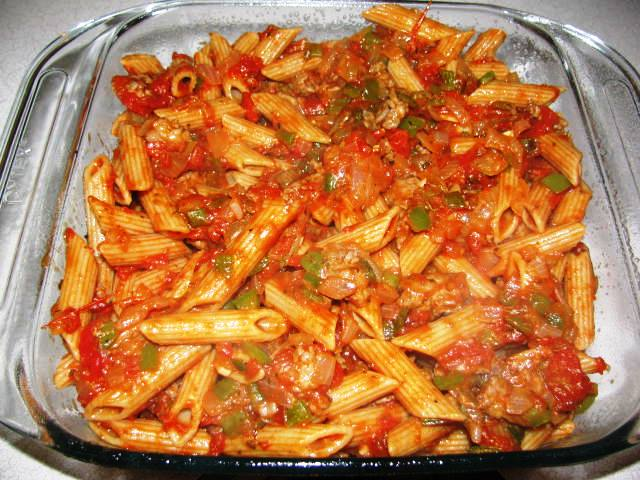 Turkey Sausage & Pasta Bake 7 | Flickr - Photo Sharing!