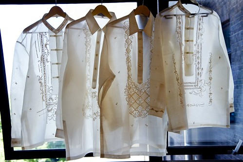 Formal yet not cumbersome as a suit - Barong Tagalog