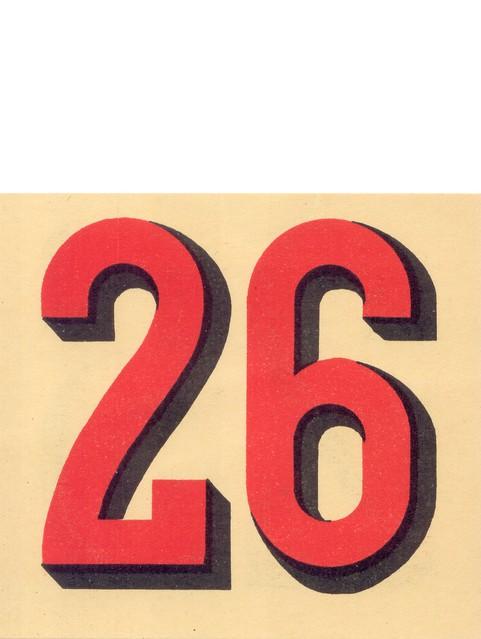 calendrier n26