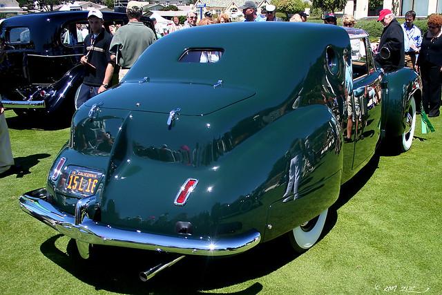 1941 Lincoln Continental Derham Coupe - rvr