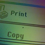 Photocopier display
