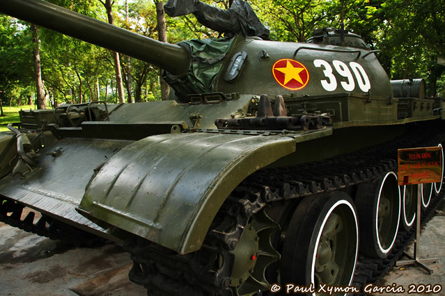 Tank at the Reunification Palace