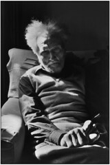 Ezra Pound, Venice, 1971, by Henri Cartier-Bresson