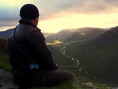 A night atop Wrynose Pass on Simons 47th birthday.
