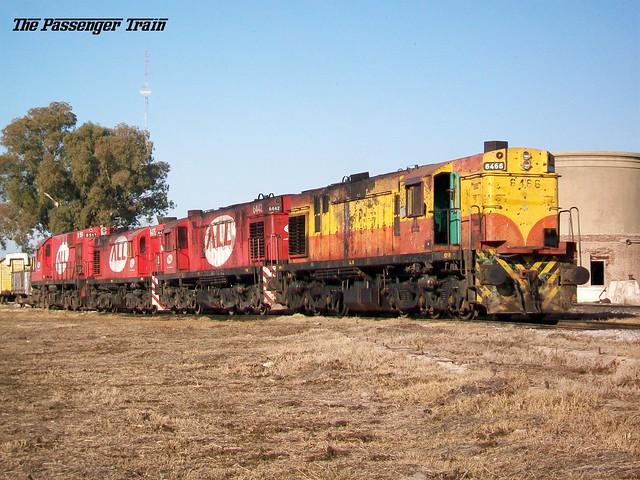 ALCO RSD35 6466+6442+6475 - RSD16 8512 en taller Rufino.