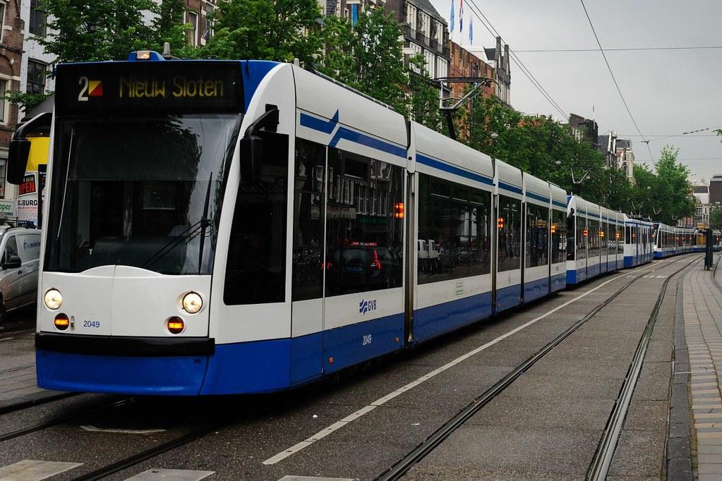 GoLivingIn Amsterdam - Tram