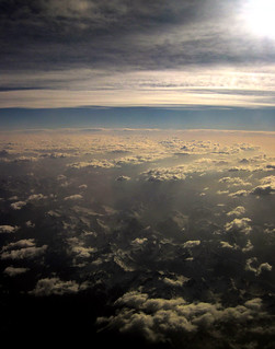 Looking from the sky to earth - Guardando dal cielo alla terra