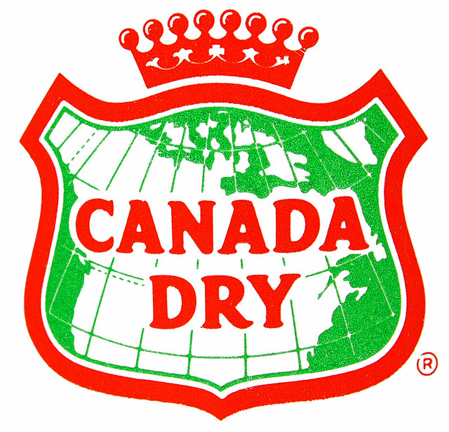 Canada Dry Ginger Ale Glass Bottle