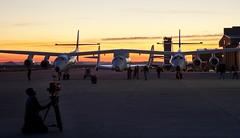 Scenesetter_Preparing for the glide flight_Photo by Mark Greenberg
