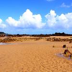 Playa de Trengandín (Noja) con bajamar.