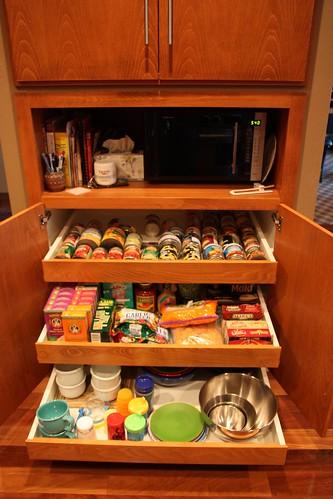 Bilde av kjøkkenskap