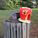 Small photo of Daingerfield Island Garbage Can