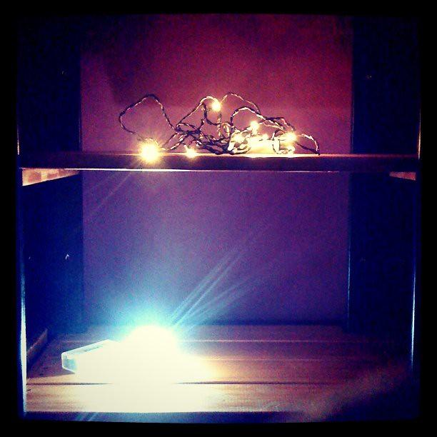 Kallt Battery Powered Lights From Ikea Shelf Lighting Sol