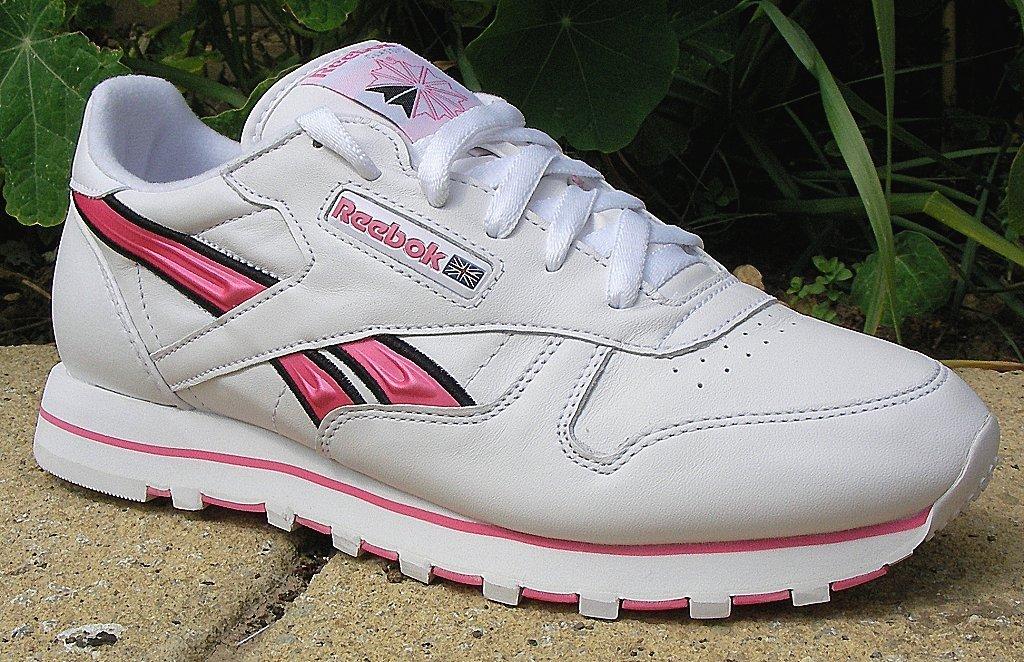 2956957a871e1f ... reebok classic white pink