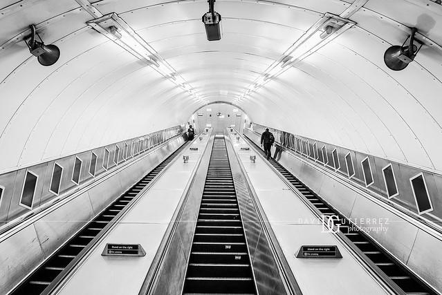 Waterloo Tube Station (II), London, UK