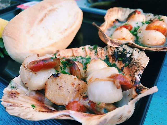 freycinet scallops